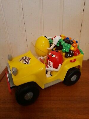 M&M's Yellow Jeep Sweet/Candy Dispenser • 22.95£