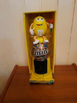 M&M's Yellow Sweet/Candy Dispenser New And Boxed • 8.99£