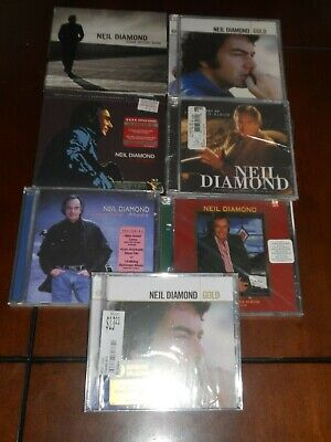 $ CDN10.09 • Buy Lot Of 7 NEIL DIAMOND CDS 5 SEALED 6 Different Total