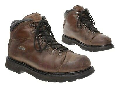LACROSSE Boots 11 M Mens Brown Leather Combat WORK Boots Vtg Motorcycle Boots • 34.73£