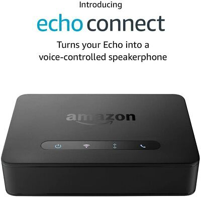 AU128.20 • Buy Amazon Echo Connect - Turns Alexa Into A Voice-controlled Speakerphone!