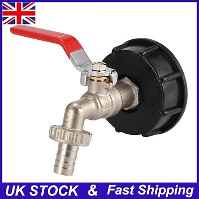 Drain Tap 1/2 Adapter Tank Water Container Urea Drum Valve Joint For IBC Drum • 9.49£