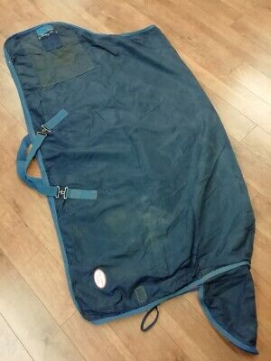 Fal Pro 6'3 Horse Lightweight Stable Rug Navy/red (used)   • 8£