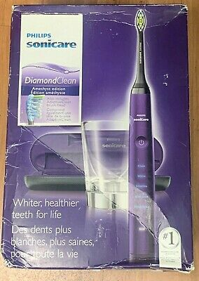AU103.09 • Buy Philips Sonicare Diamond Clean Toothbrush W/Deep Clean Amethyst HX9372/10