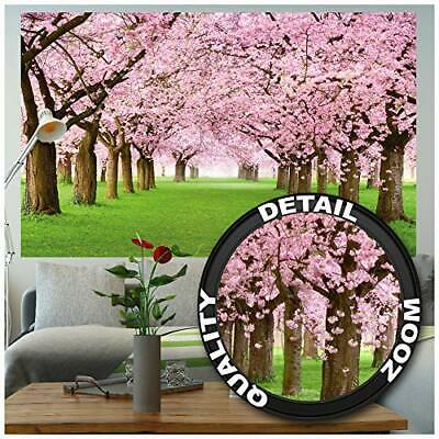 GREAT ART Poster – Cherry Blossom Tree – Decorative Wall Poster Of Spring • 23.18£