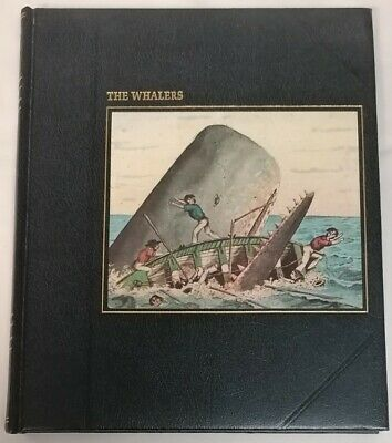 BOOK - Time Life Books The Seafarers The Whalers HB 1980 Ocean Ships History • 6£