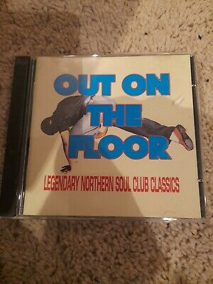 Various : Out On The Floor: LEGENDARY NORTHERN SOUL CLUB CLASSICS CD (1999) • 12£