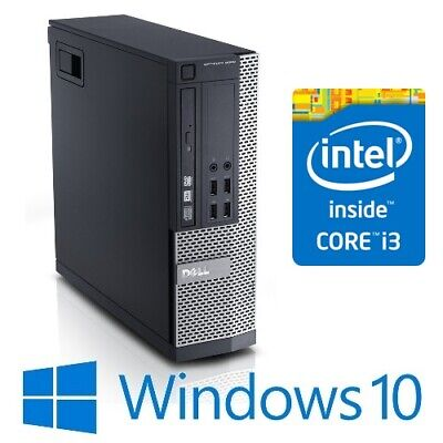 AU199 • Buy Dell Optiplex 9020 SFF Desktop PC Intel Core I3 4130 4G 250G Win 10 Pro