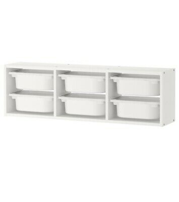 Ikea Trofast Wall Storage Unit & Drawers • 5£