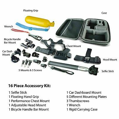 $ CDN48.20 • Buy 16 Accessories Kit For GoPro  Action Camera Case NIB