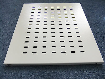 Fixed Vented Rack Mounted Shelf 19  X 440mm; NO.S,; • 20£