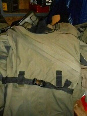 Typhoon Large Gore-tex Immersion Suit Olive Green Used Condition  Uksf Rm Sbs • 99£