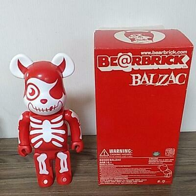 $156.99 • Buy MEDICOM TOY Be@rbrick Balzac 400% Horror Atom-Age Red Bearbrick Used Rare