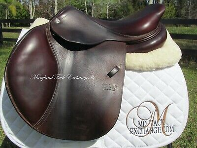 $ CDN3736.43 • Buy 16.5  CWD SE02 Close Contact Jumping French Saddle 2C Forward Flaps- 2016 MODEL!