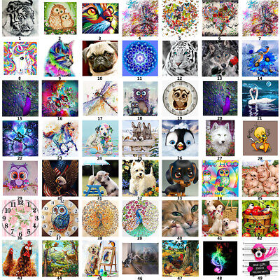 AU11.70 • Buy DIY 5D Diamond Painting Full Drill Embroidery Cross Stitch Art Kit Home Decor AU