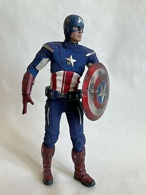 $ CDN253.74 • Buy Captain America Loose Hot Toys MMS174 Incomplete 1/6 12  Avengers