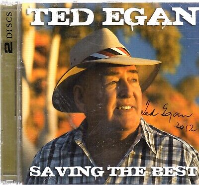 AU10 • Buy Ted Egan, Saving The Best, 2 CD's, Signed