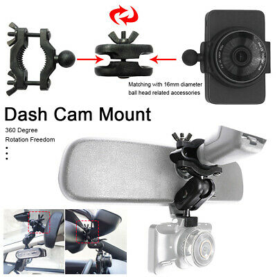 AU13.99 • Buy II Car Dash Cam Camera Video Recorder Mount Holder Stand Bracket 360° Rotation
