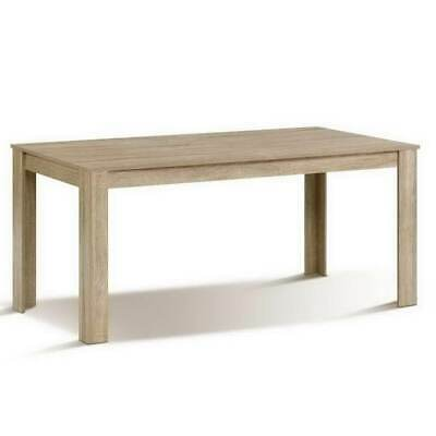 AU156.57 • Buy Artiss Dining Table 6-8 Seater Wooden Kitchen Tables Oak 160cm Cafe Restaurant