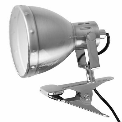 £32 • Buy 240v CHROME Clamp On LED Lamp Adjustable Reading Head Bulb Delivery Included