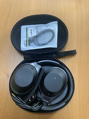 Sony WH-1000XM2 Bluetooth Over The Ear ANC Headphones - Black (my Ref. EB17) • 49£