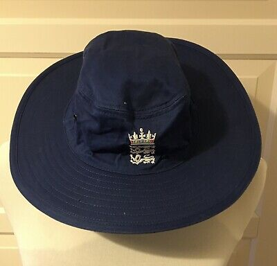 ADMIRAL Wide Brimmed  England Cricket Sun Hat Size Small • 5.50£