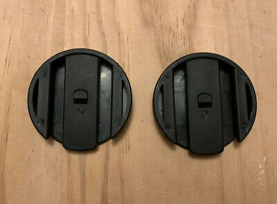 £2.99 • Buy QUINNY ZAPP / XTRA Spare Car Seat Adapter Blanks, End Caps, Covers, Discs X2
