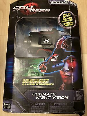 New Spy Gear Special Ops Ultimate Night Vision Over The Head Goggle NIB • 50.67£