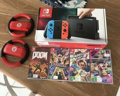 AU250 • Buy Nintendo Switch 32GB Neon Blue/Neon Red Console
