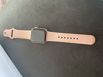 AU15.50 • Buy Apple Watch Series 4 40 Mm Gold Aluminum Case With Pink Sand Sport Band (GPS) -