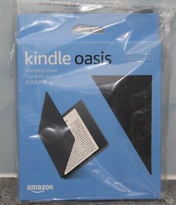 AU9 • Buy Kindle Oasis Water-Safe Fabric Cover, Charcoal Black - Fits 9th Gen (2017)