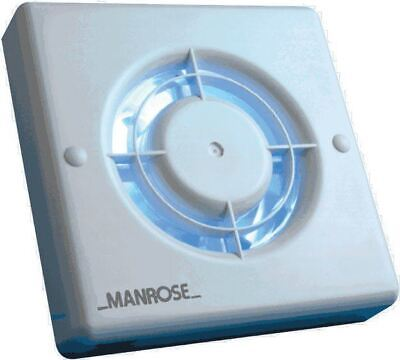 £19.11 • Buy Manrose 100mm Standard Bathroom Extractor Fan With Adjustable Timer XF100T