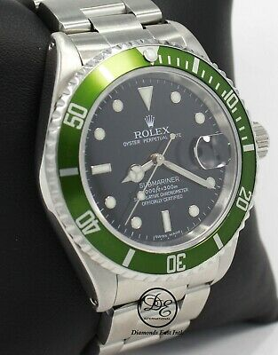 $ CDN12879.68 • Buy ROLEX Submariner 16610 Oyster Date SS Black Dial Men's Watch *MINT CONDITION*