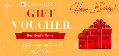 £2.95 • Buy Driving Lesson Vouchers   Top Up Cards   Can Be Redeemed To Any UK Instructor