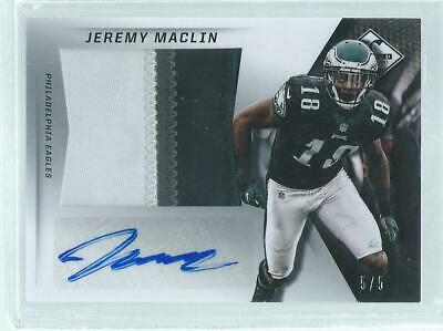 $59.99 • Buy Jeremy Maclin 2013 Panini Limited 4-color Patch Auto Prime #d 5/5