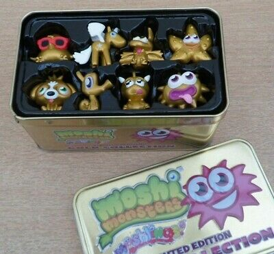 £39.99 • Buy Moshi Monsters Moshlings Limited Edition Gold Collection Tin + 8 Monsters