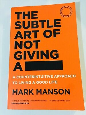 AU22 • Buy The Subtle Art Of Not Giving A F*ck Mark Manson Book