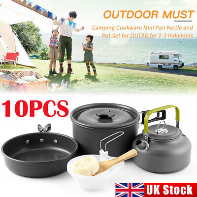 £22.98 • Buy Cook Sets Portable Camping Cookware Kit Outdoor Picnic Hiking Cooking Equipment.