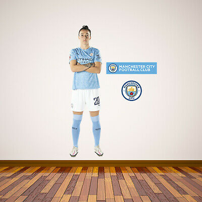 £29.99 • Buy Manchester City Lucy Bronze 20/21 Player Wall Sticker + Man City Decal Set