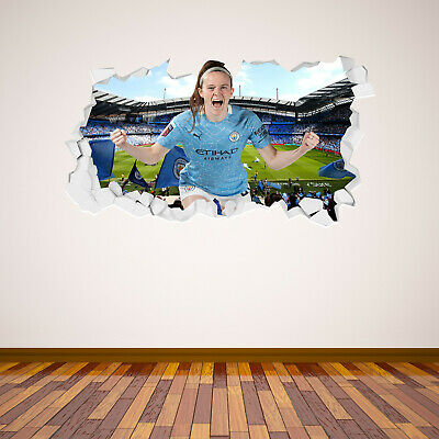 £19.99 • Buy Official Manchester City Rose Lavelle 20/21 Broken Wall Sticker & Decal Set