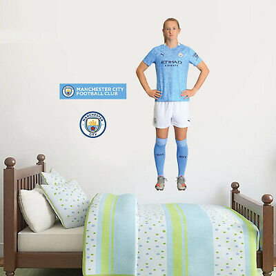 £29.99 • Buy Manchester City Sam Mewis 20/21 Player Wall Sticker + Man City Decal Set