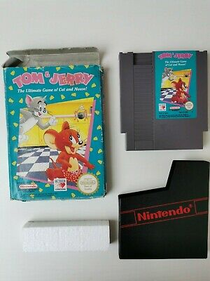 £19.99 • Buy Tom & Jerry Nintendo Nes Game UK Version Boxed With Sleeve & Poly Cleaned Tested