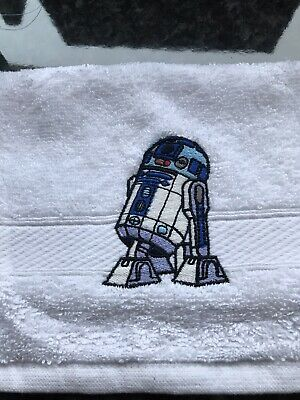 £5.99 • Buy Face Cloth With Star Wars R2d2 Emblem