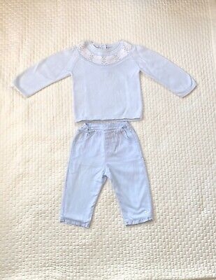 £10 • Buy Emile Et Rose Spanish Baby Boy Outfit Set Trousers Jumper Knit 6-12 Months