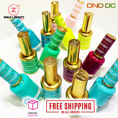 AU21.99 • Buy Dnd Dc Collection Uv/led Gel & Nail Lacquer - #254 To #289