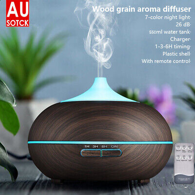 AU21.95 • Buy Ultrasonic Aroma Aromatherapy Diffuser LED Essential Oil Air Humidifier Purifier