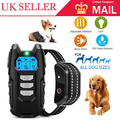 £28.99 • Buy Electric Pet Dog Training Collar Shock Anti-Bark Electronic Remote Rechargeable.