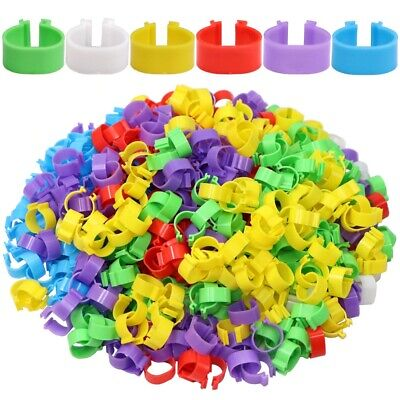 £6.99 • Buy 100Pcs Foot Ring For Chicken Duck Goose Poultry Buckle Leg Label Without Text