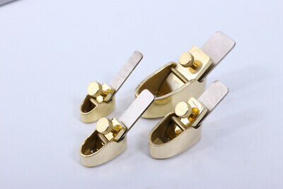 £48 • Buy 1set Violin Making Tools 4pcs Mini Brass Planes Steel Blade Luthier Tools Curved