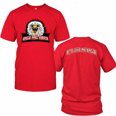 $18.99 • Buy Eagle Fang Karate Front & Back T-shirt Red Size S-5XL